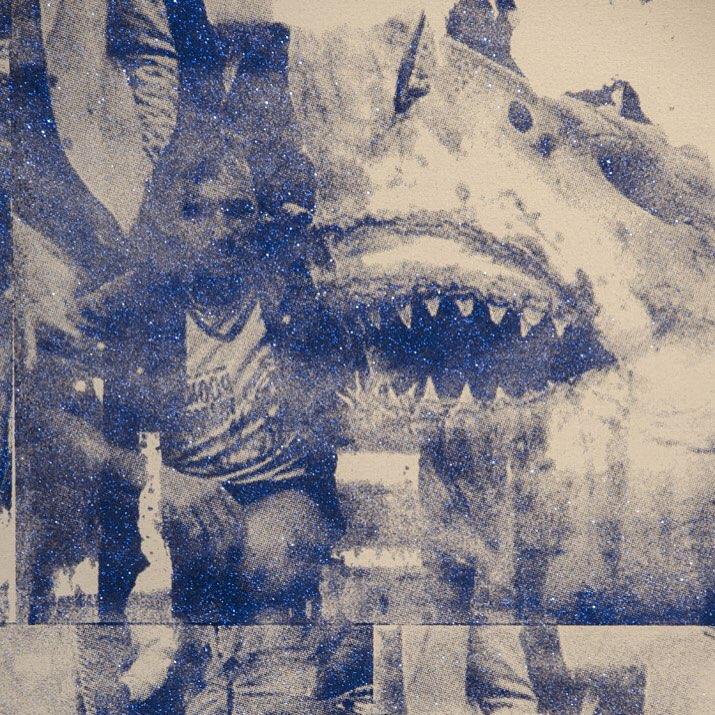 """Apex Simulation (predator vs. prey)"", 2015  #shoshanawaynegallery #abdulmazid #laartist #art"