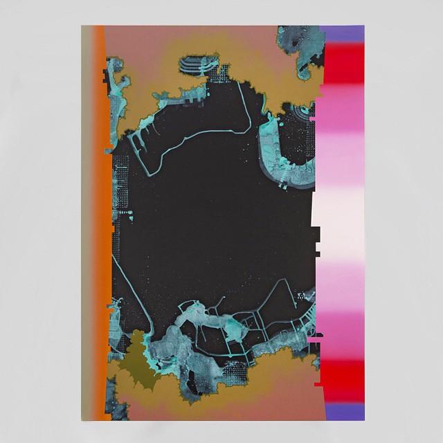 """Philip Argent, """"Untitled"""", 2014 #shoshanawaynegallery #philipargent #rhizome"""