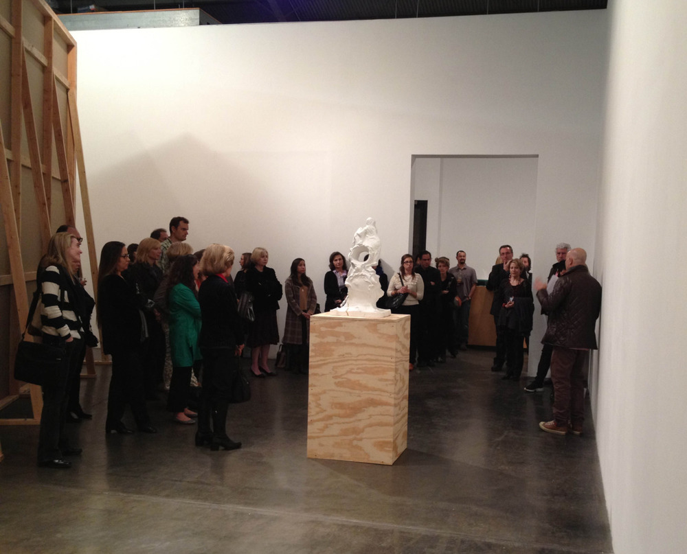 "Izhar Patkin speaks about his solo exhibition ""The Dead Are Here."" (Jan 7 - Feb 18, 2012) at an Artis Artist Talk & Reception last night. Thank you to all who attended!"