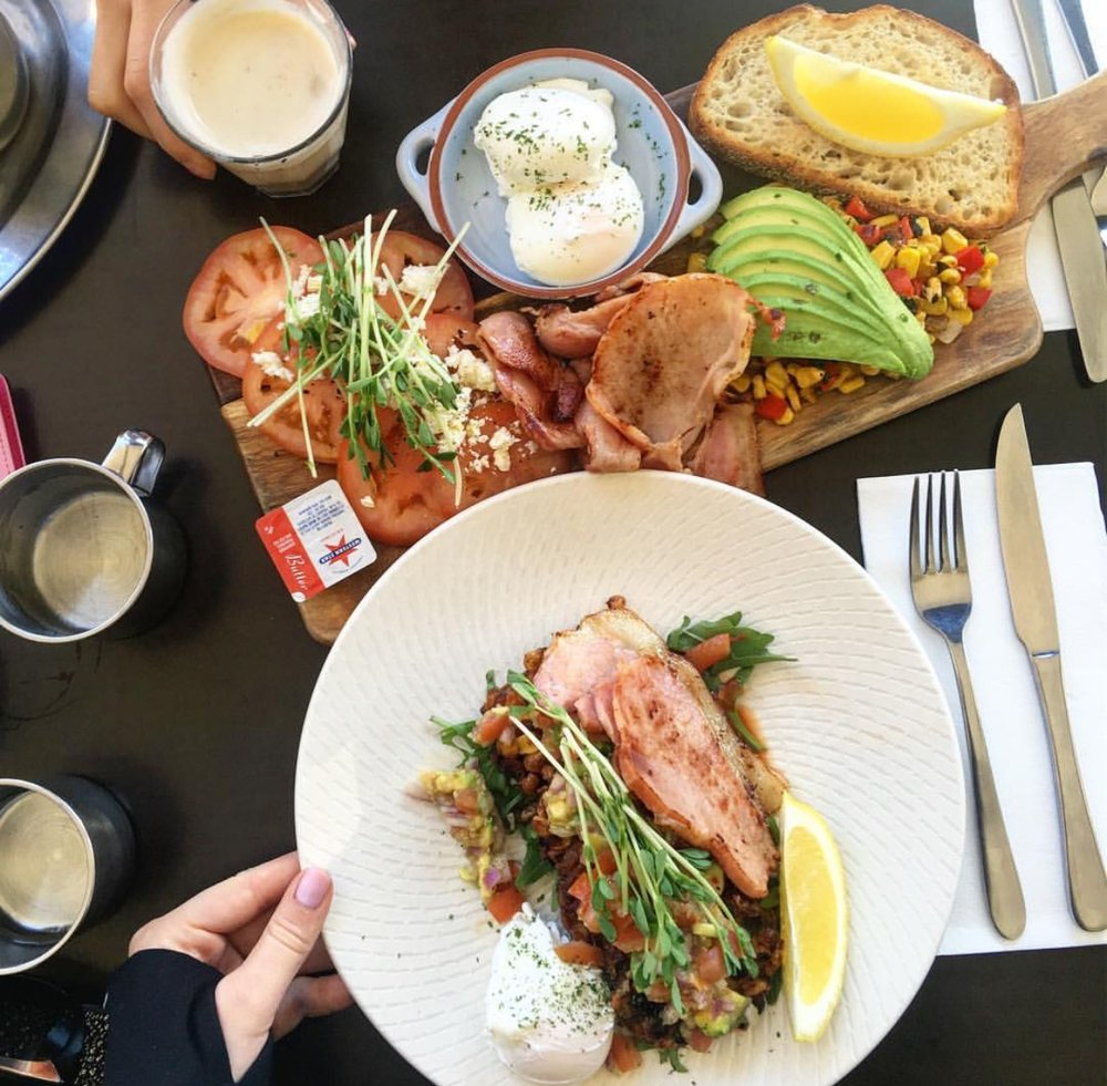Kafeine Balmain Brunch Sydney