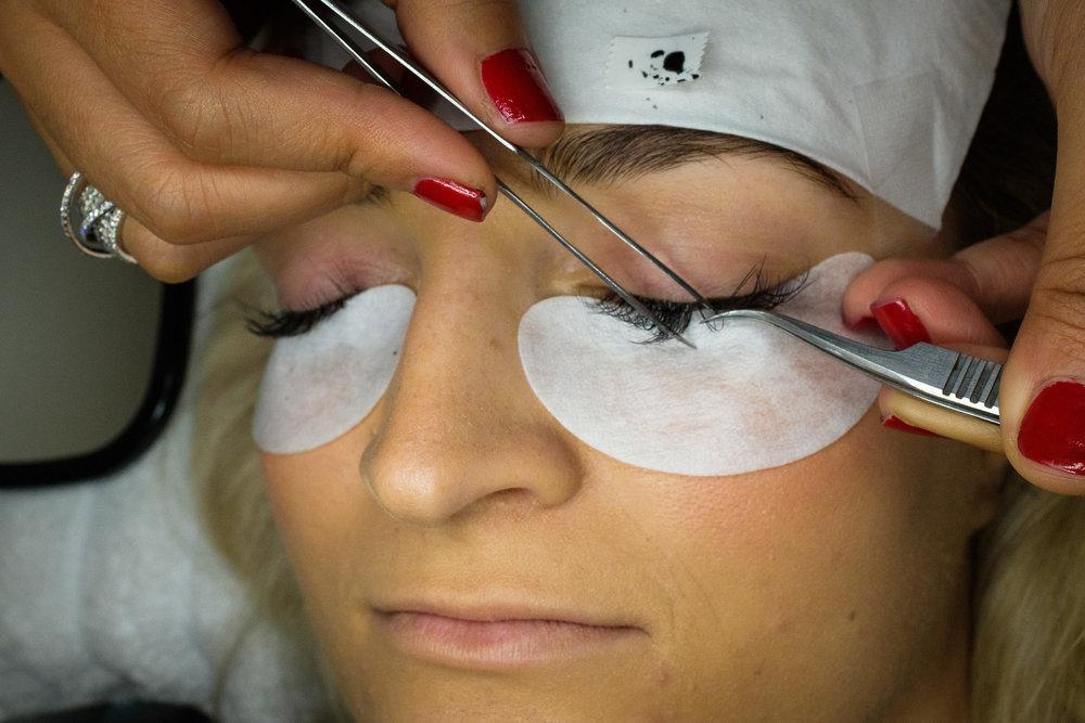 eyelash extensions lashtastique