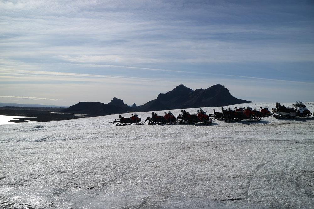 Glacier Snowmobile Arctic Adventures