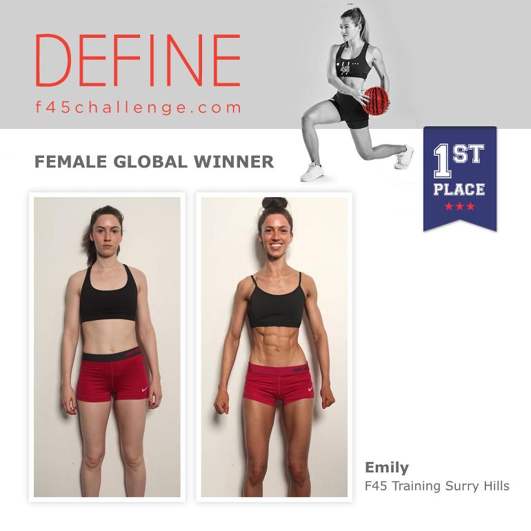 F45 Global Challenge Winner