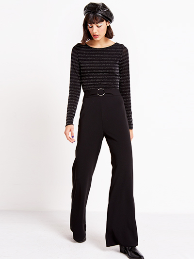 The Flared Black Trousers, SALE: £20