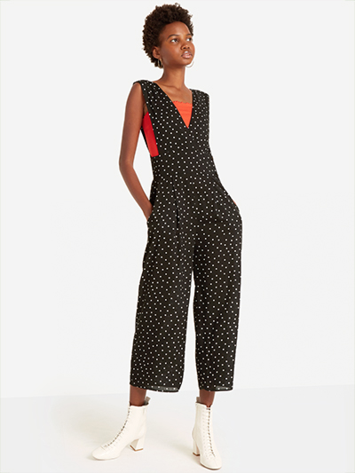 The Culotte Polka Dot Jumpsuit, SALE: £20