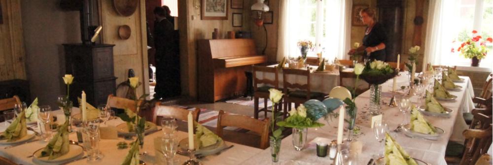 Dinner and Celebration -