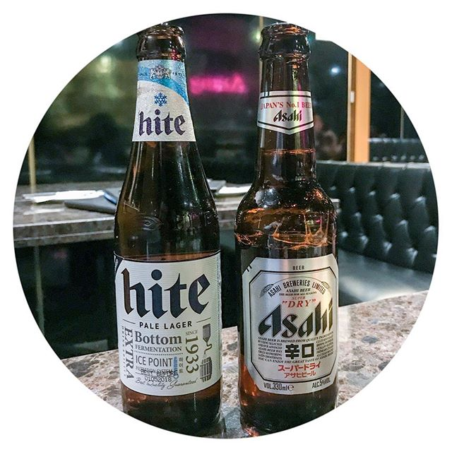 Would you rather a Korean or a Japanese beer. Today is also international beer day. #internationalbeerday #koreanbeer #japanesebeer