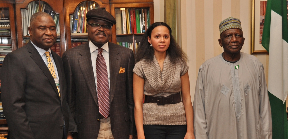 Minister of Culture, Deputy High Commissioner, Rebeca Omordia and His Excellency Nigeria High Commissioner in London