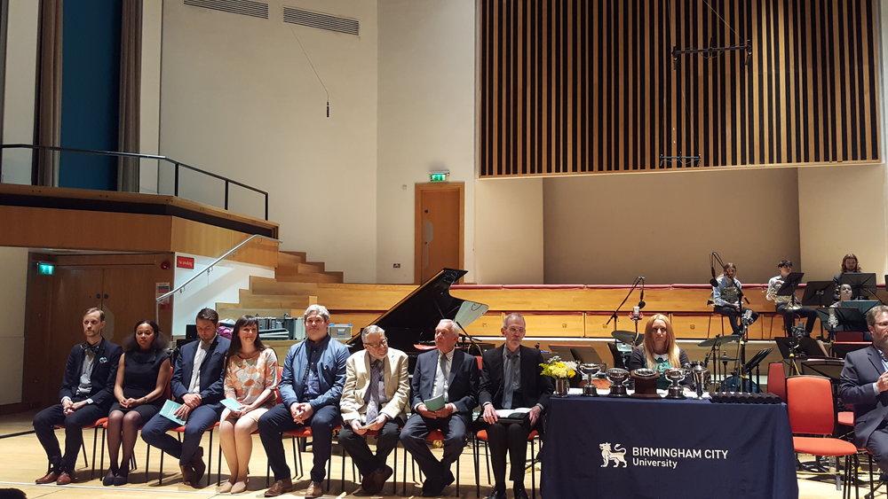 Prize Ceremony, Birmingham Conservatoire