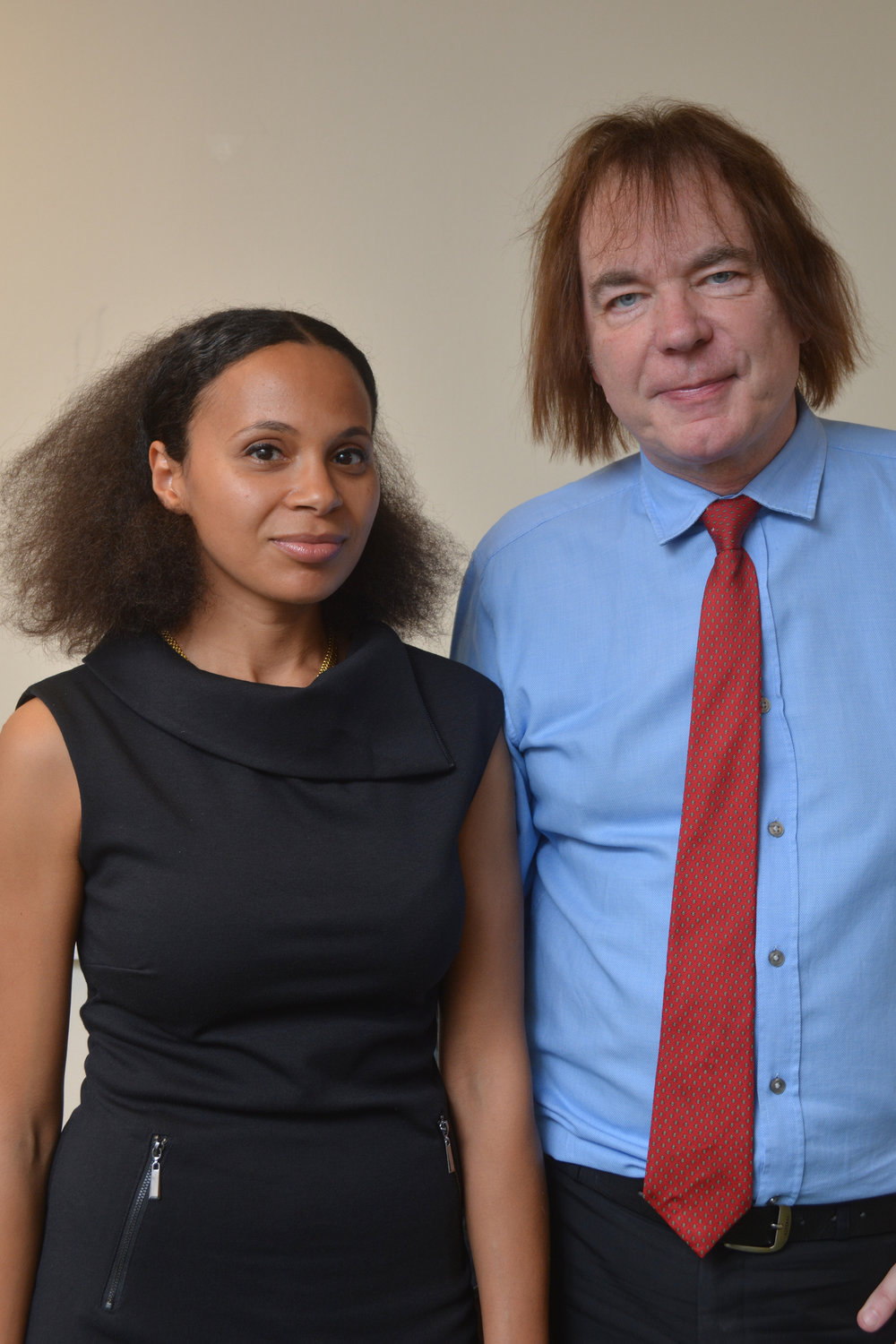 Rebeca Omordia and world renowned cellist Julian Lloyd Webber, Principal of Royal Birmingham Conservatoire