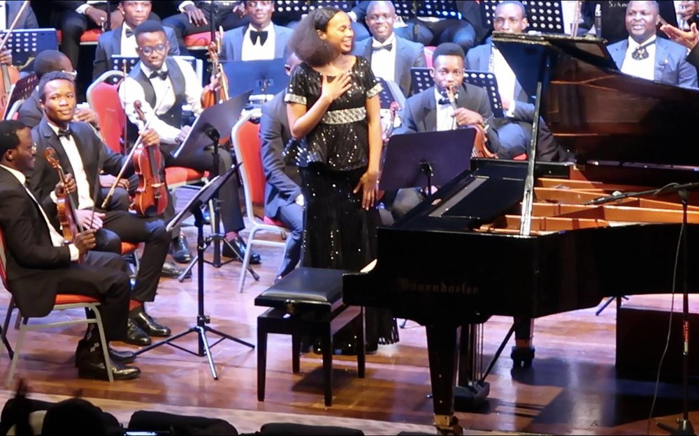 Rebeca Omordia and MUSON Symphony Orchestra