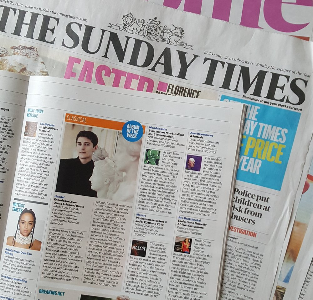 THE SUNDAY TIMES REVIEW: