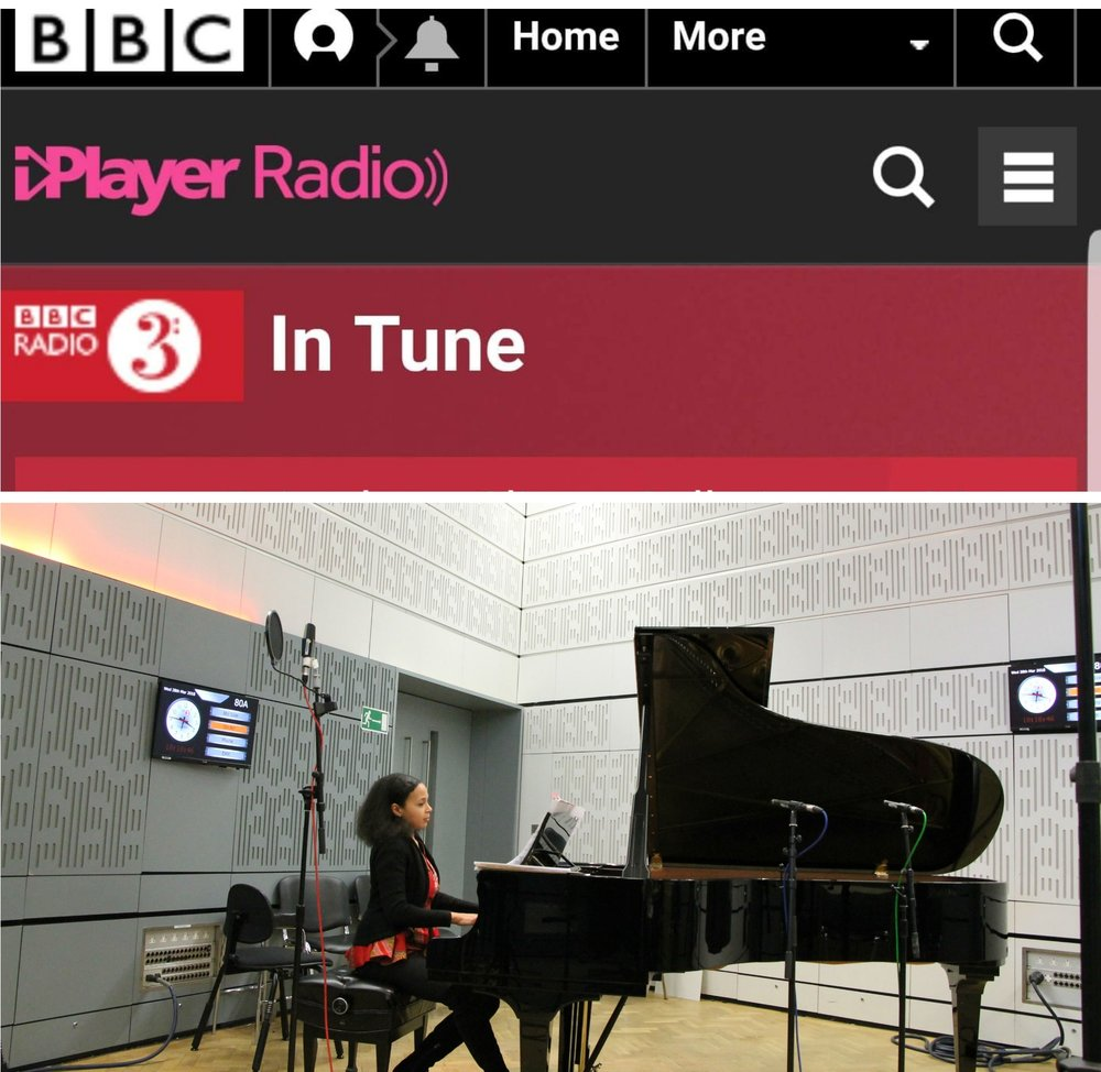 BBC Radio 3 - Rebeca performs and discusses Nigerian classical music live on BBC Radio 3