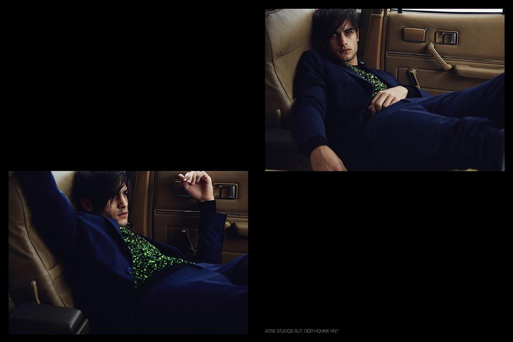 Acne Studios   Suit,  Dior Homme  Knit
