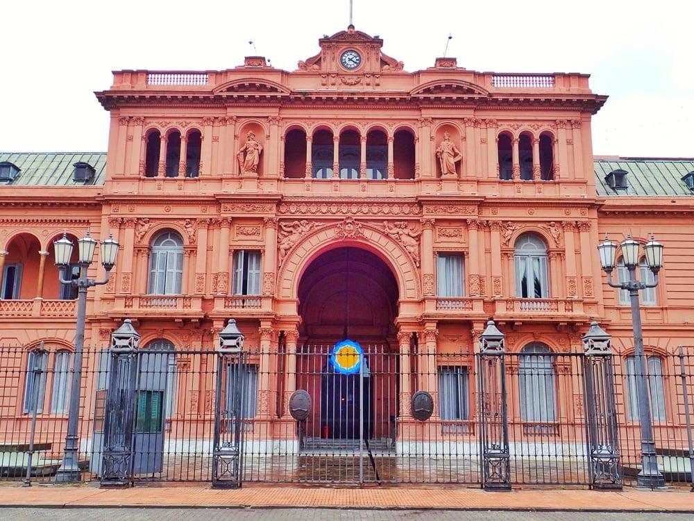 Casa Rosada - 'the pink house'