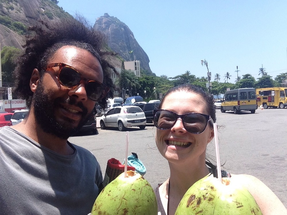 What a lovely pair of coconuts!