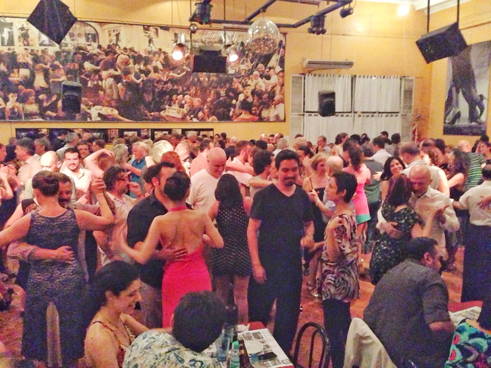The milonga in full swing!