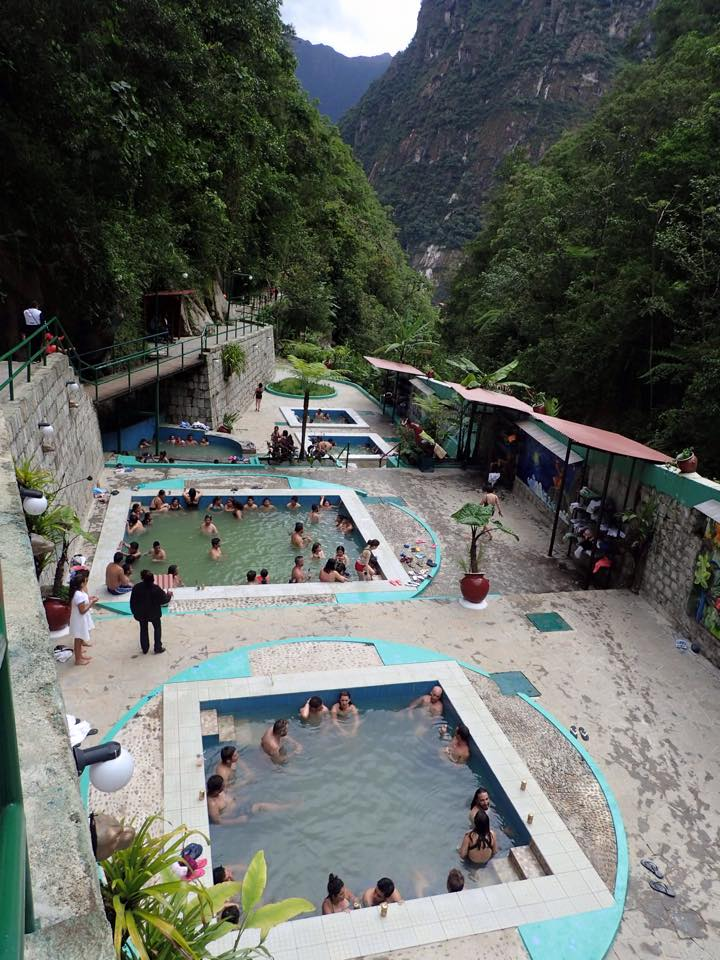 The muddy Aguas Calientes!