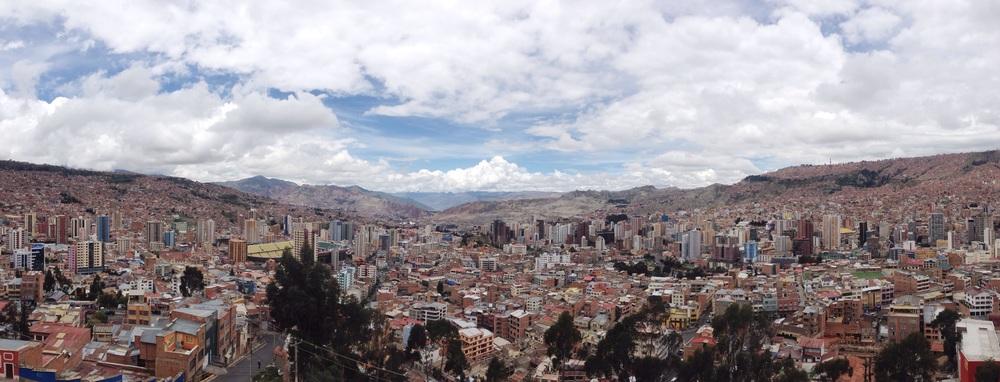 Panoramic La Paz