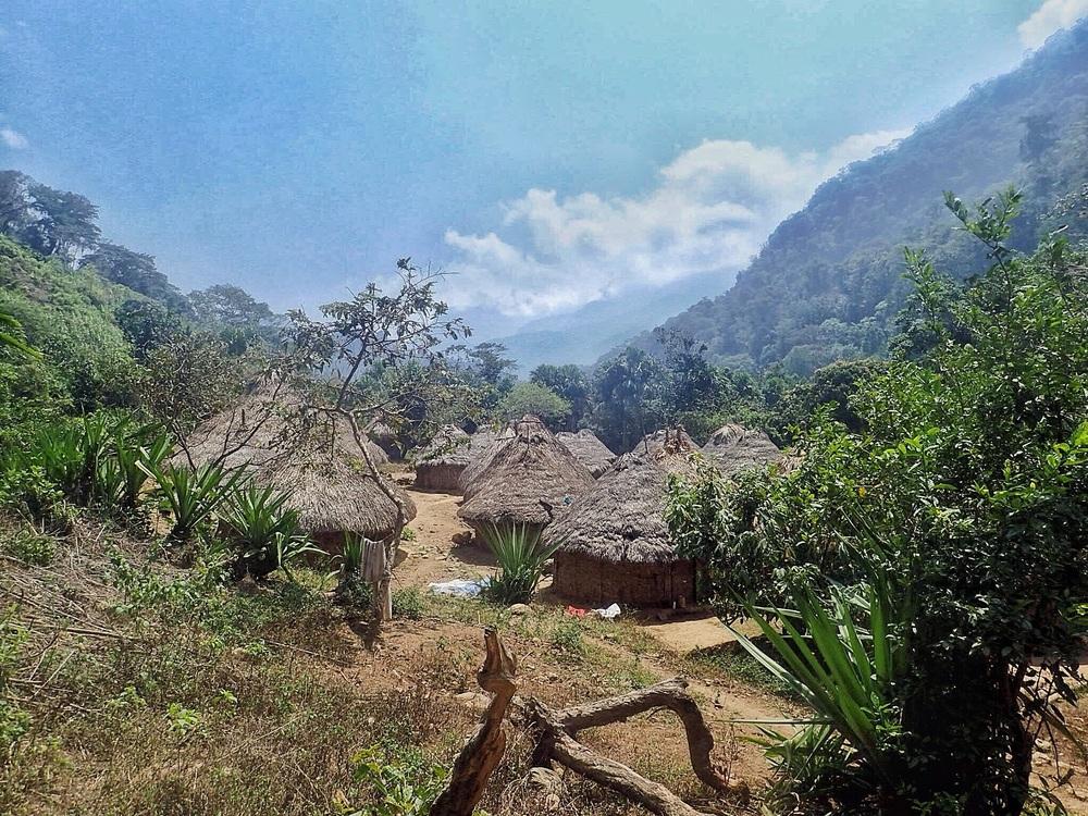 A Kogi village