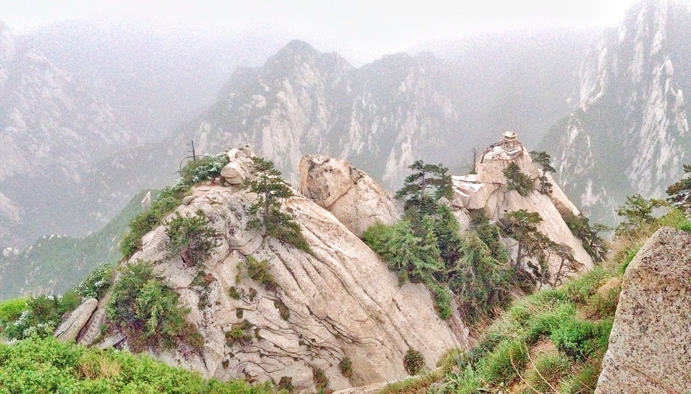 The Chess Pavilion on the right peak.