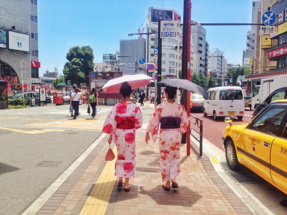 Geisha Asakusa Budget Travel