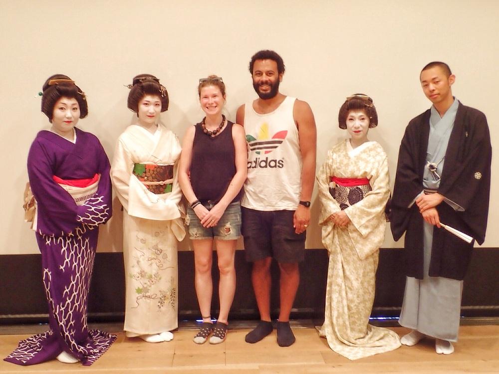 Geisha Asakusa Tokyo