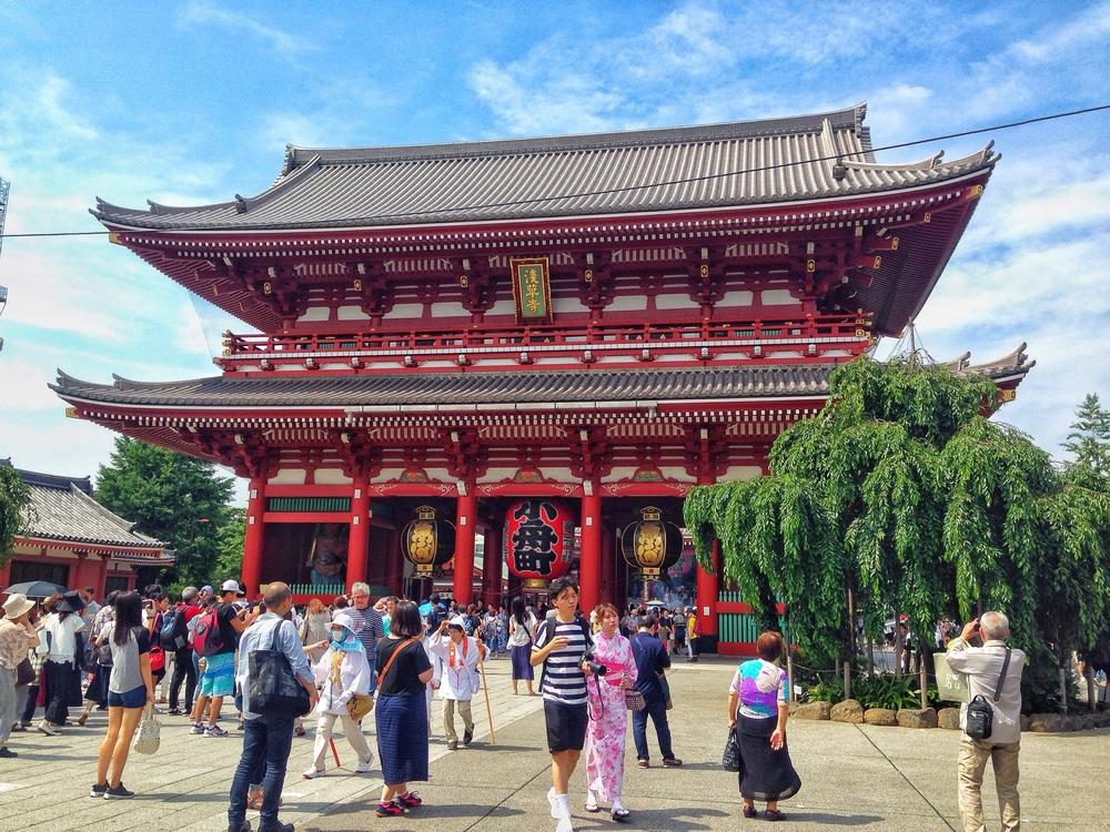 Sensoji Shrine Budget Travel Tokyo
