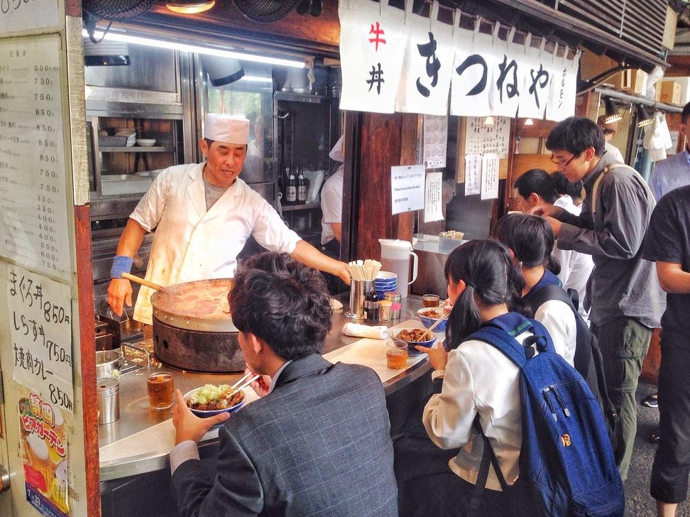 Street Food in Tsukiji