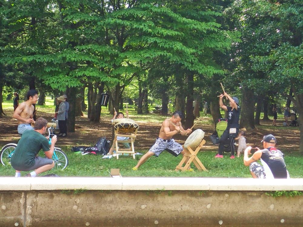 Yoyogi Park Sunday