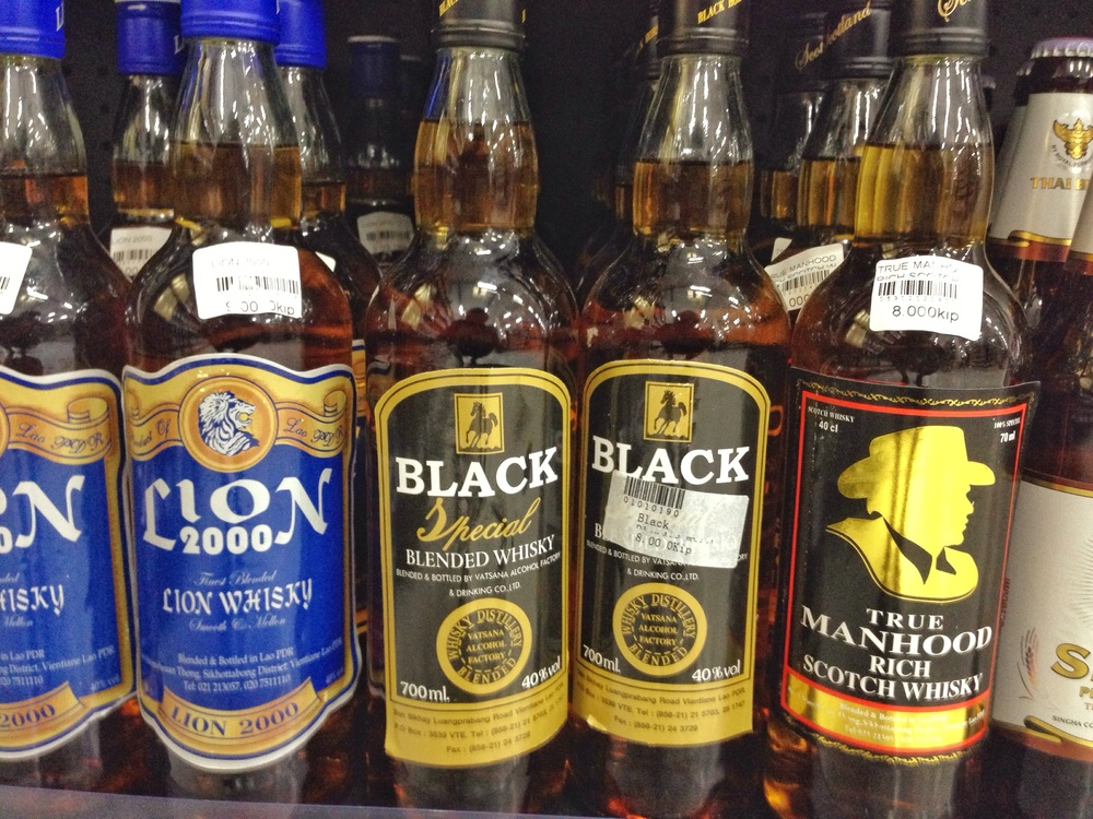 A selection of the finest 80 pence whisky on the planet