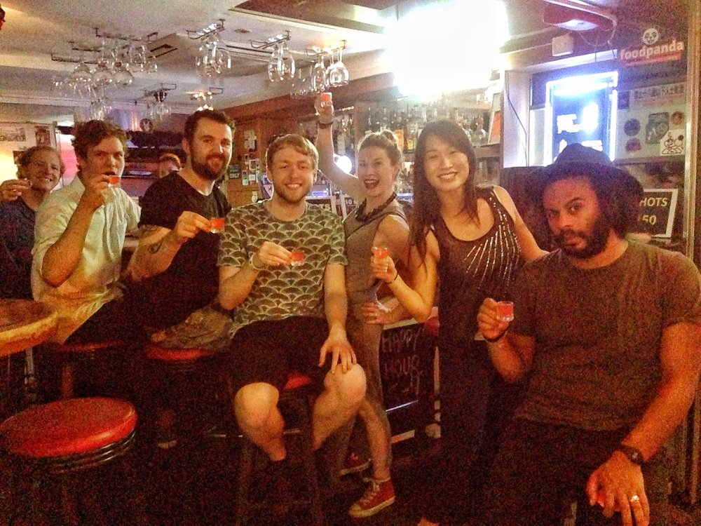 Our Hong Kong crew was HUGE (this is just a few of them) and made up of people from every corner of the globe. Great times!
