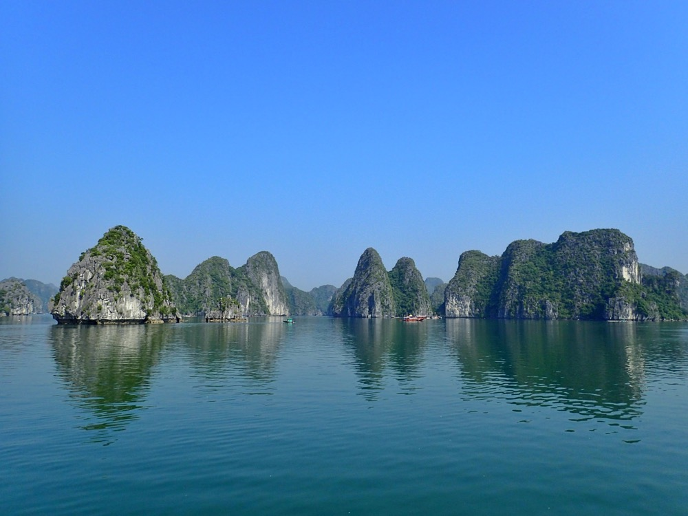 Incredible karst islands of Lan Ha Bay