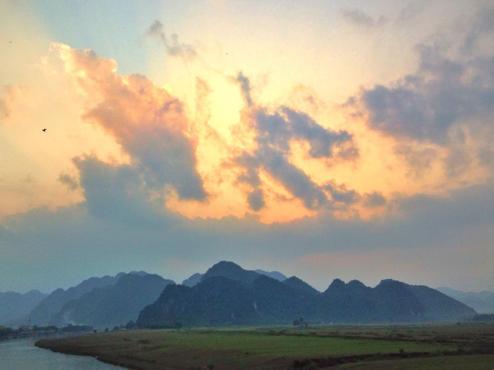 Phong Nha's karst mountains