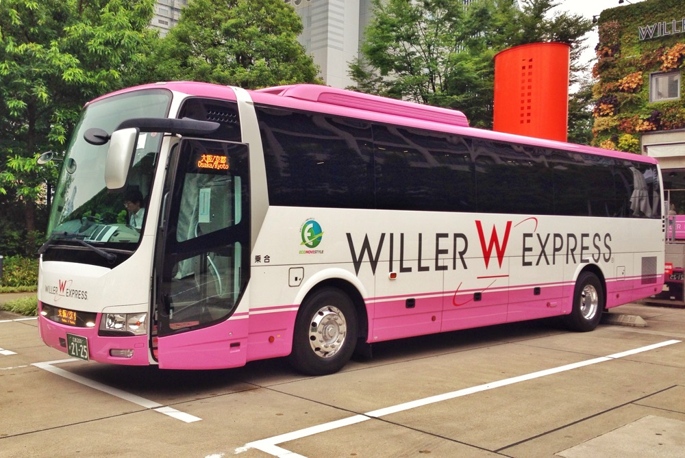 A Willer Express bus