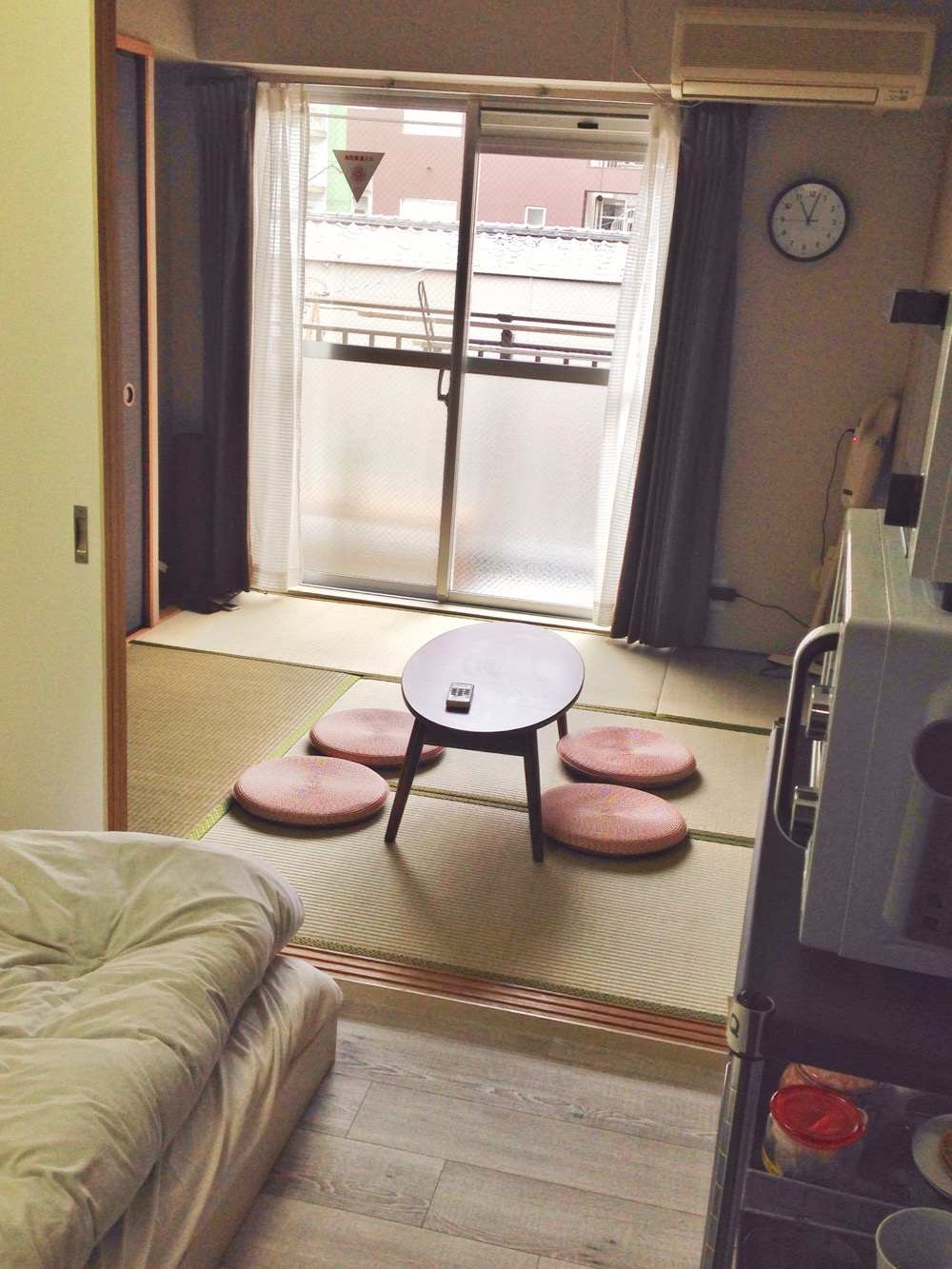 Our cute Airbnb apartment in Hiroshima