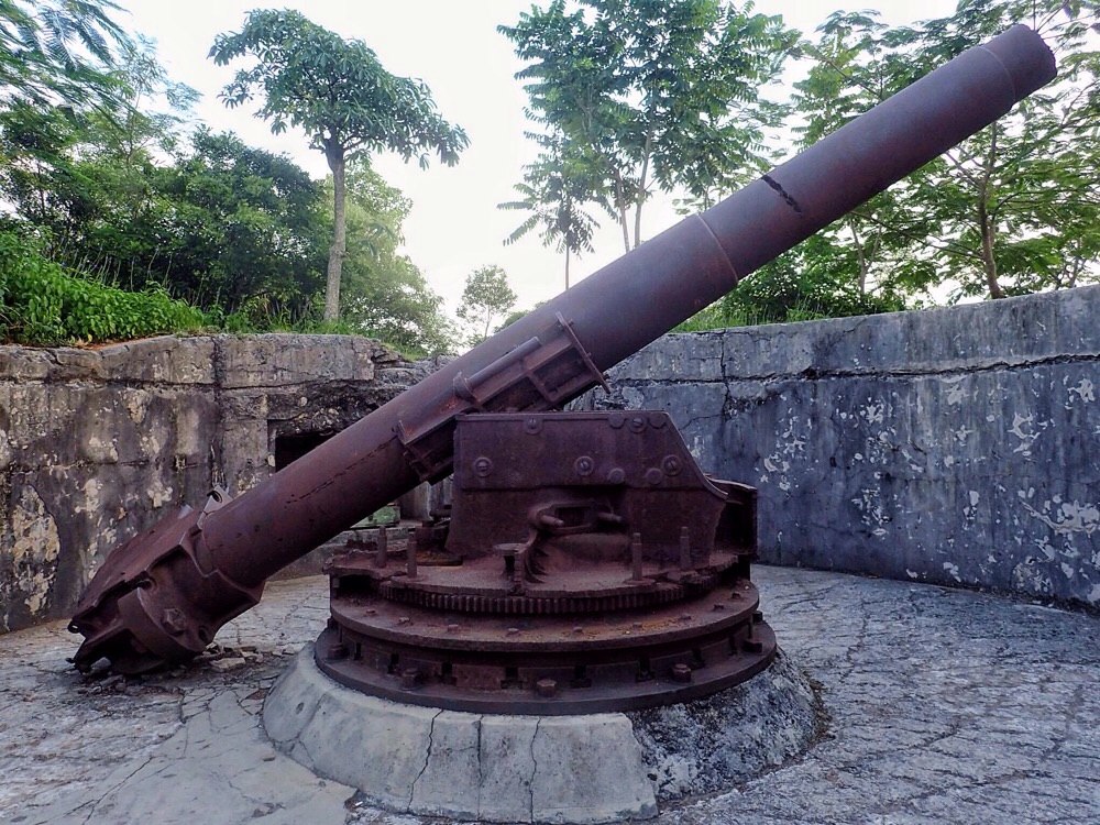 Cannon at Fort Cannon.