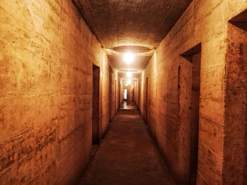 Cat Ba Hospital Cave.
