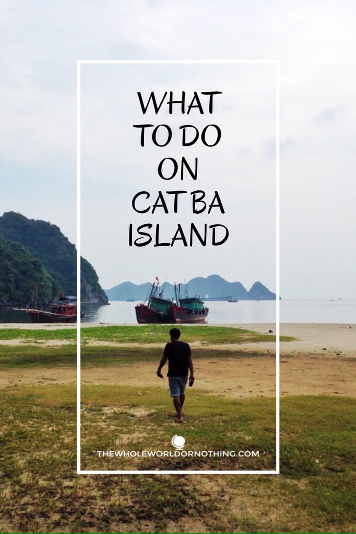 What to do in Cat Ba?
