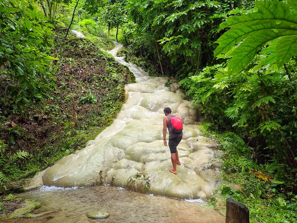 Bua Tong Waterfalls.