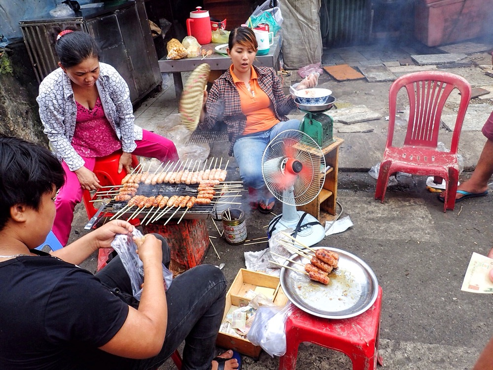 Incredible street food in Cambodia