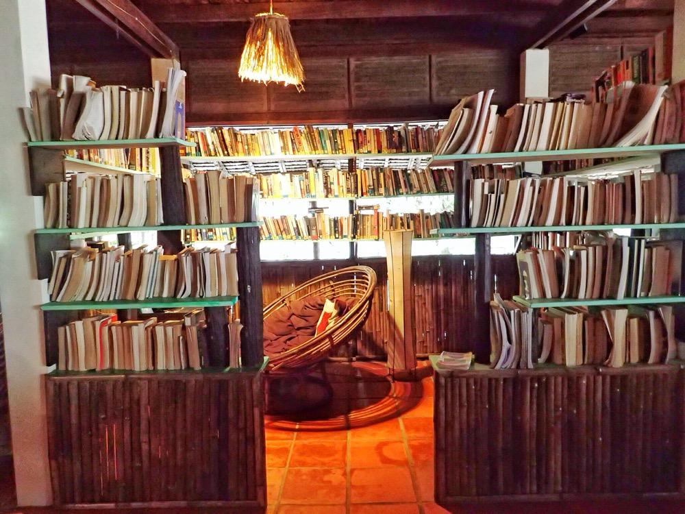 Serous envy over Joel's library