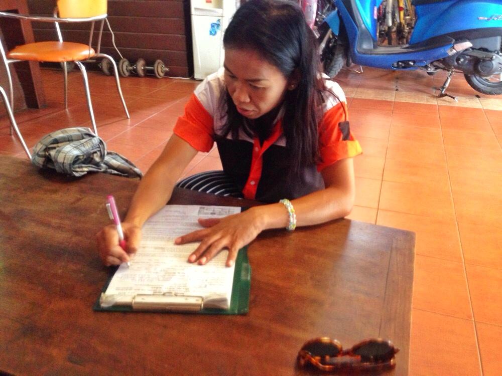 Renting a Motorbike Thailand