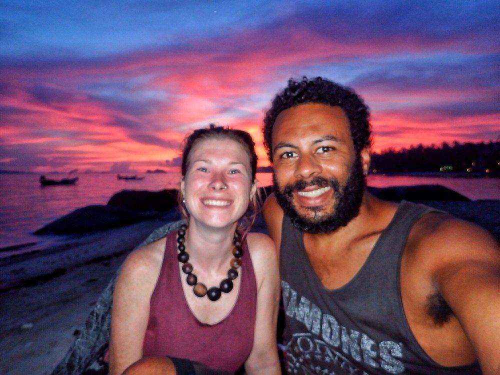 Sunset on Koh Phangnan