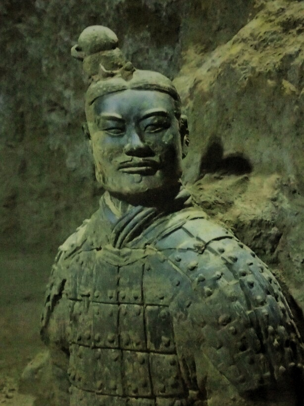 Terracotta warrior close up