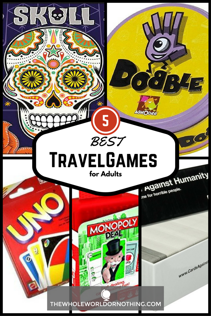 Best Travel Games For Adults