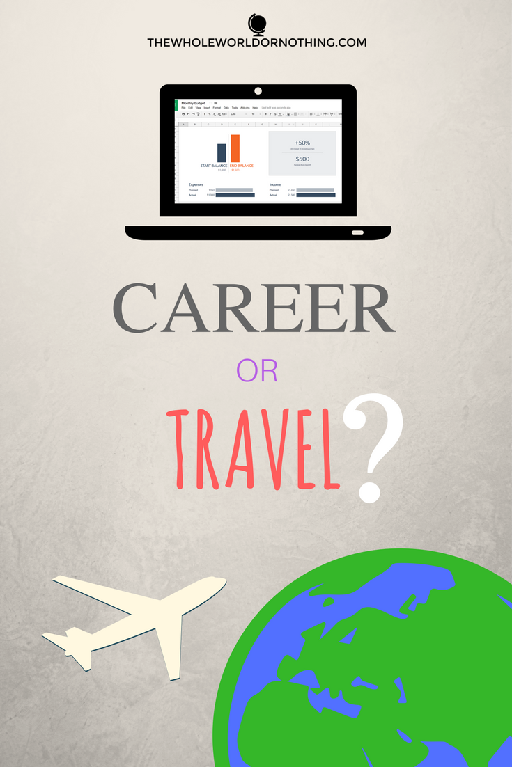 Career or Travel?