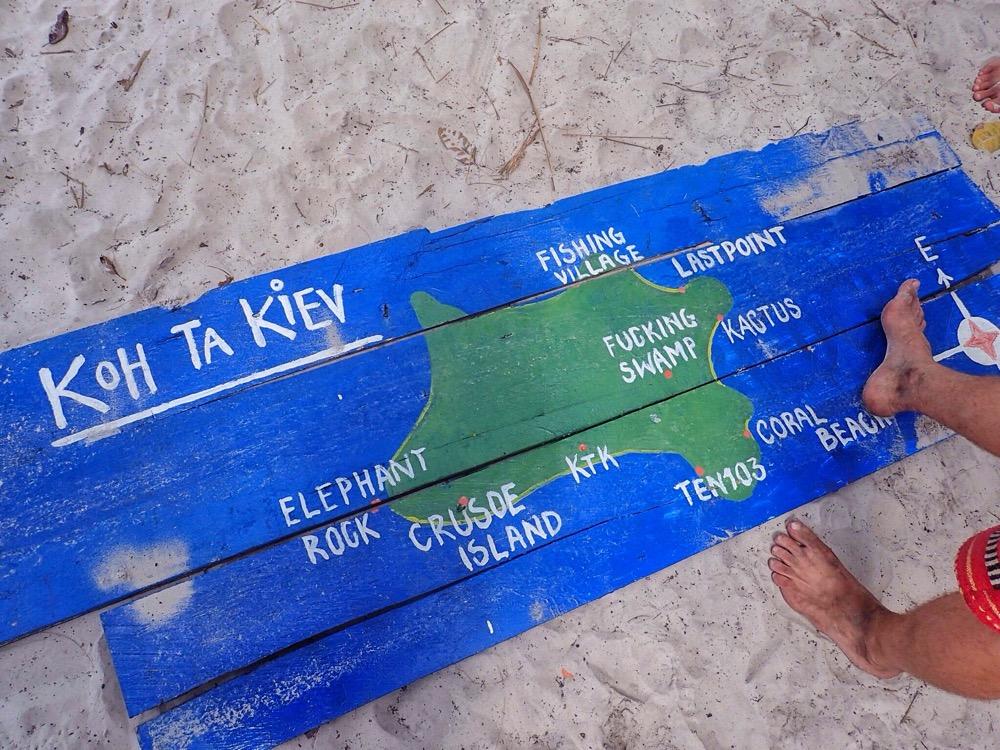 Koh Ta Kiev Map