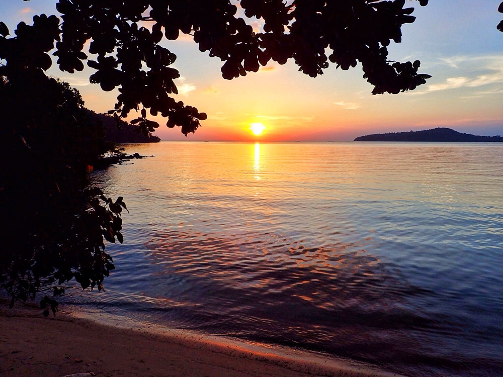 Cambodian Island Sunset