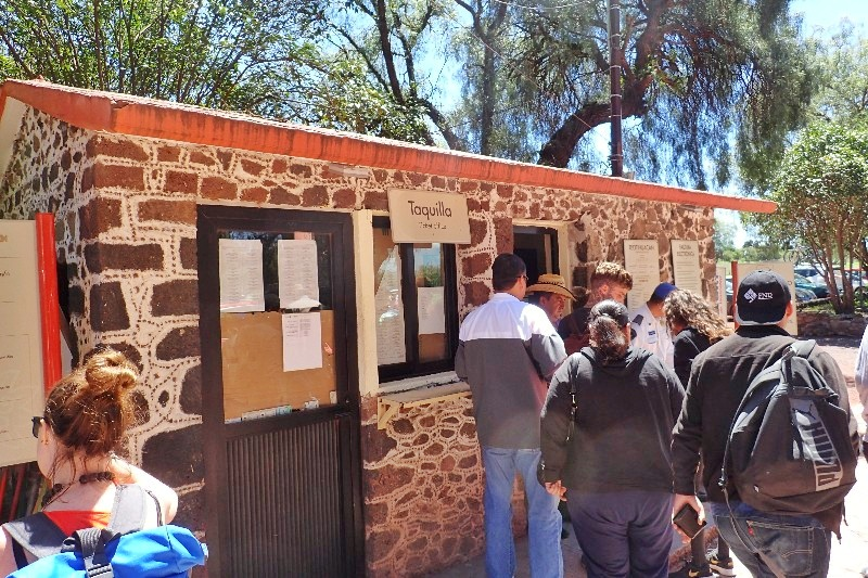 Teotihuacan ticket booth